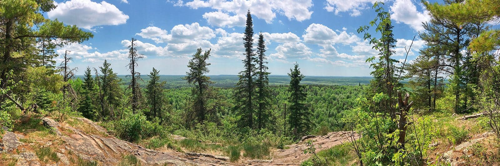Eagle Mountain, the highest point in Minnesota